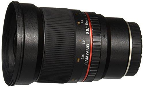 Samyang SY16M-FX 16mm f/2.0 Aspherical Wide Angle Lens for Fuji X
