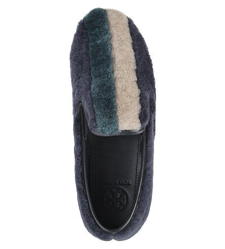 Scarpe Da Ginnastica In Shearling Color Block Tacco Burch Bamford Slip On Sneakers 5