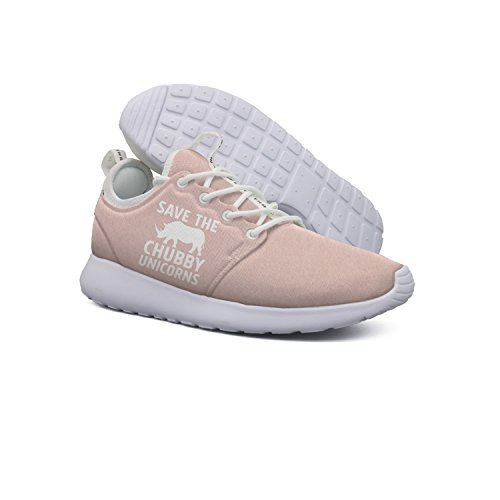 Save The Chubby Unicorns Women's Sports Running Shoe Breathable Sneakers