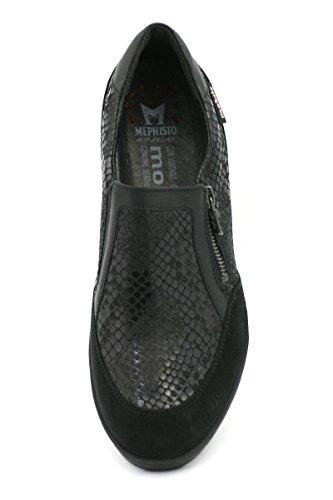 MOBILS PUPINA SCARPE DONNA SLIP-ON BUCKSOFT 6900/QU.14700/SO.1200 BLACK Size EU 4 ITA 37 USA 6,5