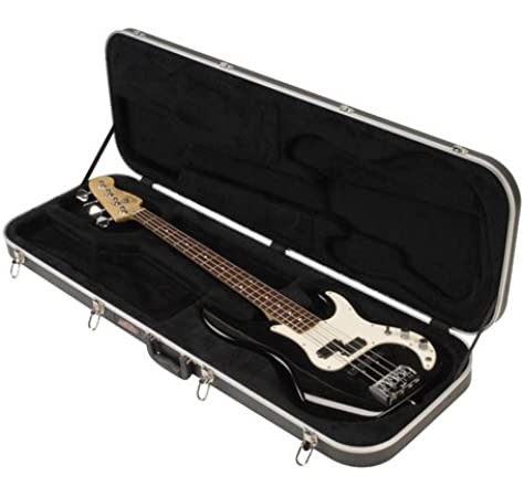 SKB Economy - Maleta para bajo eléctrico rectangular: Amazon.es: Instrumentos musicales