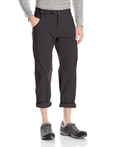 prAna Men's Stretch Zion 34' Inseam Pants, Charcoal, Size 34
