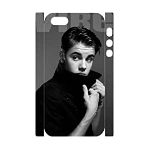 Personalized Phone Case with Hard Shell Protection for Iphone 5,5S 3D case with Justin Bieber lxa#7107320