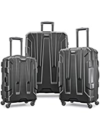 Centric Hardside Expandable Luggage with Spinner Wheels, Black