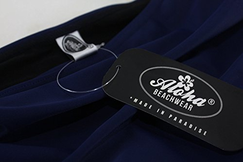 Aloha-Beachwear - Traje de una pieza - para mujer azul oscuro