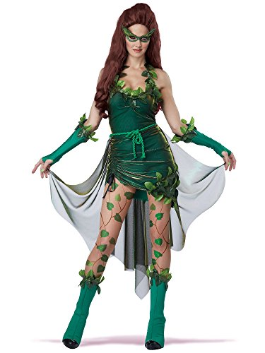 California Costumes Women's Eye Candy - Lethal Beauty Adult, Green, -