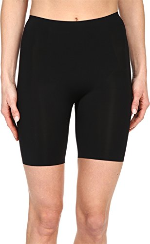 SPANX Women's Thinstincts Mid-Thigh Short, Very Very Black LG