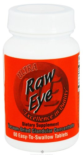 Ultra Raw Eye (Ultra Glandulars Ultra Raw Eye 60 Tab)