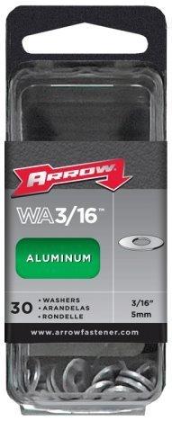 Arrow Fastener WA3/16 Aluminum Washers -