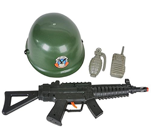 RINCO Halloween Army Soldier 4pc Child Costume Accessory