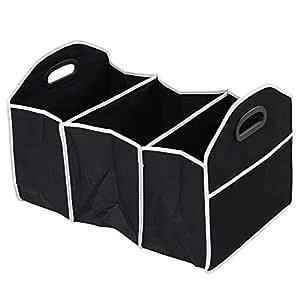 Plegable Compras ordenado Robusta Organizador de Arranque Robusta Plegable Caja de Almacenamiento del Coche Caja de Almacenamiento Justdodo Plegable Ahorro de Espacio Coche