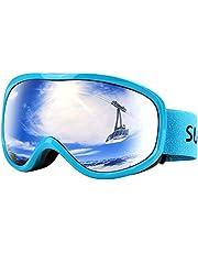 Supertrip Skibrille Herren Damen Snowboardbrille für Brillenträger Antifog