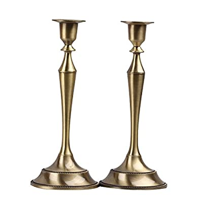 Metal Taper Candle holder,Set of 2