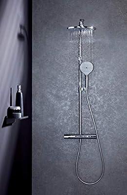 Jacob Delafon E32851-CP Columna de ducha termostática, Cromado ...