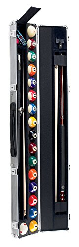 Aramith Billiard/Pool Cue & Ball Locking Hard Travel Case