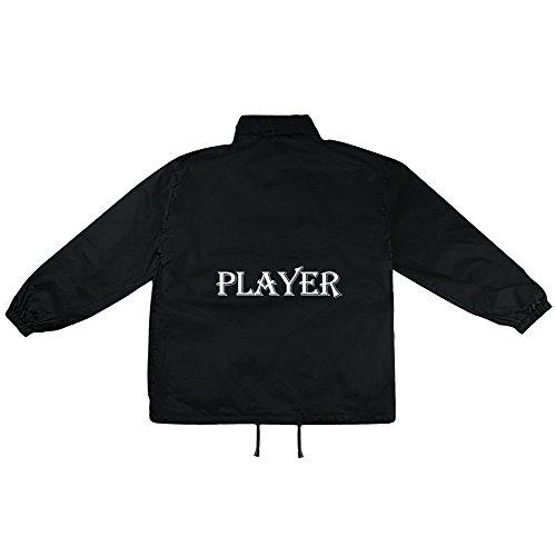 Player Motiv auf Windbreaker, Jacke, Regenjacke, Übergangsjacke, stylisches Modeaccessoire für HERREN, viele Sprüche und Designs