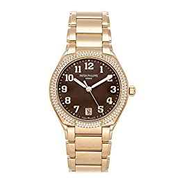Patek Philippe Twenty-4 Mechanical (Automatic) Brown Dial Womens Watch 7300/1200R-001 (Certified Pre...