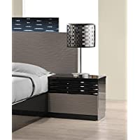 J and M Furniture 17777-NS Roma Night Stand