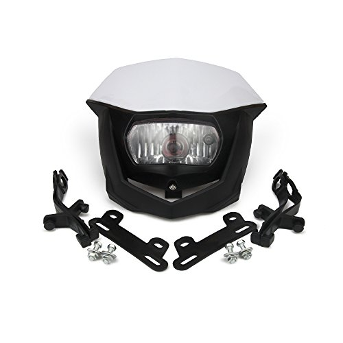 JFG RACING H4 12V 35W Universal Headlight Head Lamp For Motorcycle Dirt Pit Bike ATV Scooters - ()