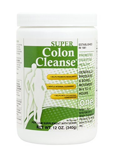 Health Plus Inc. Super Colon Cleanse, 12 Oz by Health Plus