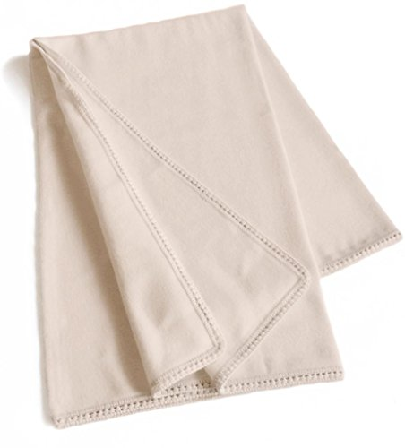 Cozy & Natural Alpaca Wool Lounge Throw 47in X 63in, Off White