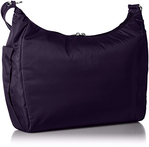 PacSafe Women's Citysafe Cs200 Anti-Theft Handbag Travel Cross-Body Bag, Mulberry, One Size by Pacsafe (Image #2)