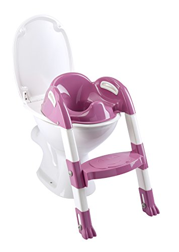 Thermobaby 2172552ALL Kiddyloo Toilettrainer, Fuchsia/Wit/Roze