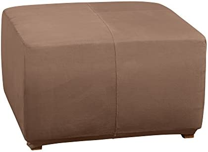 SURE FIT Ultimate Heavyweight Stretch Suede Ottoman Cover Luggage