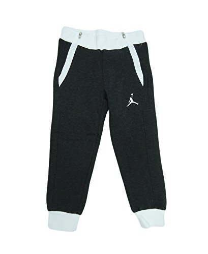 Jordan Zipped Up Slim Jogger - Grade School (4, JD GC BK WH)