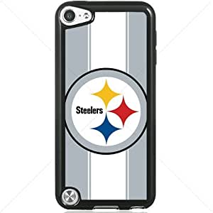 NFL American football Pittsburgh Steelers Apple iPod Touch iTouch 5th Generation Hard Plastic Black or White cases (Black)