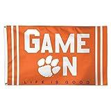 WinCraft Clemson University Game On 3×5 College Flag