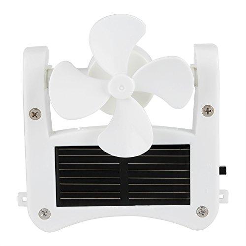 an, Solar Power Cap Hat Clip on Mini Fan Pocket Clips Solar Hat Sport Fan USB Hanging Cooler for Indoor Ourdoor ()