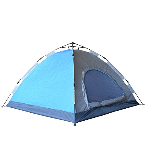 Eagletail Outdoor Instant Tent; 3-Person Automatic C&ing Tent - Quick Easy 3-Step Setup - Family Tent for Indoor/Outdoor Use  sc 1 st  Amazon.com & Easy Up Camping Tents: Amazon.com