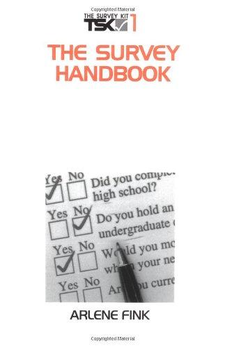 The Survey Handbook (The Survey Kit, Vol 1)