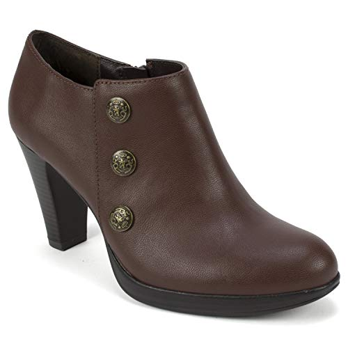- RIALTO Shoes PENSTON Women's Boot, Brown/Smooth, 8 M