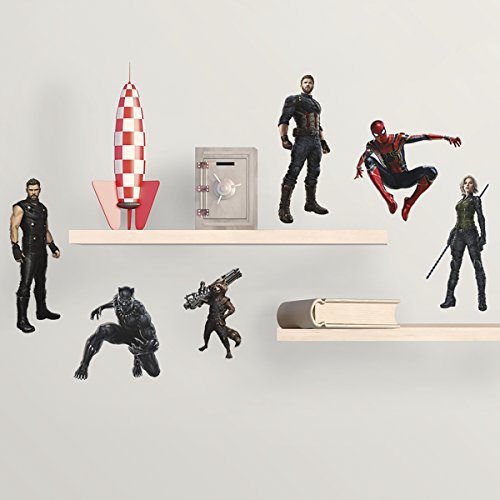 RoomMates Avengers Infinity War Characters Peel and Stick Wall Decals -