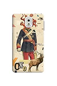 LarryToliver samsung note 3 Customizable retro style collage design pictures Best Plastic Cover Case-Creative New Life #3