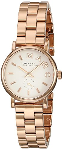 MBM3248 Marc By Marc Jacobs Baker Mini Rose Gold-Tone Ladies Watch