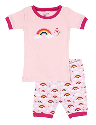(Shorts Rainbow 2 Piece Pajama 100% Cotton (6 Years))