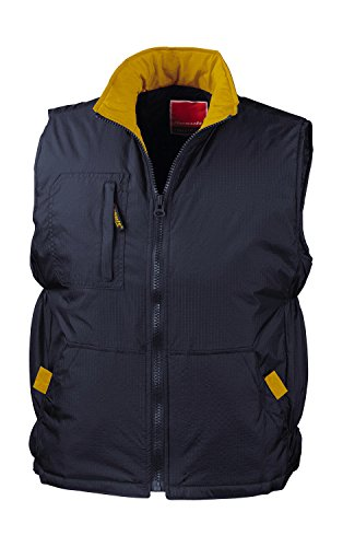 Navy Re66a Yellow Chaleco Ripstop Result Unisex Adulto gdqnwUTgXx