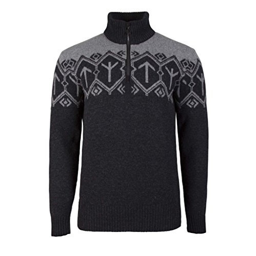 DALE OF NORWAY Men's Tor Sweater E-Dark Charcoal/Smoke Large