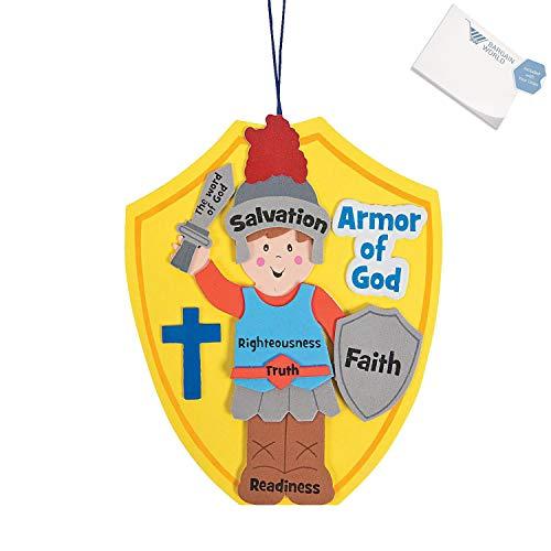 Bargain World Armor of God Craft Kit (With Sticky -