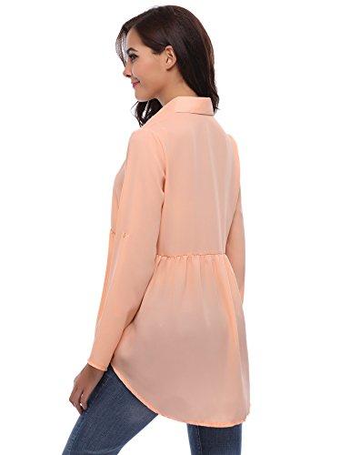 Iclosam Para Iclosam Rosa Camisas Para Mujer Mujer Camisas xBSWqqHwFZ