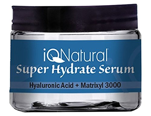 IQ Naturals Best Pure Hydrating Serum For Skin Rejuvenation | Experience Intense Moisture, Hydration and Anti Wrinkle Serum Benefits | Wrinkle Filler & Plumper - 2oz