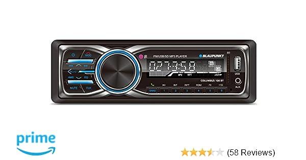 amazon com blaupunkt columbus 100 bt mp3 and fm bluetooth car rh amazon com Radio Wiring Diagram Wiring Harness Diagram