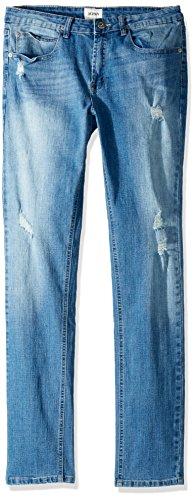 HUDSON Boys' Big Jude Skinny Jean, Stone Wash, 8