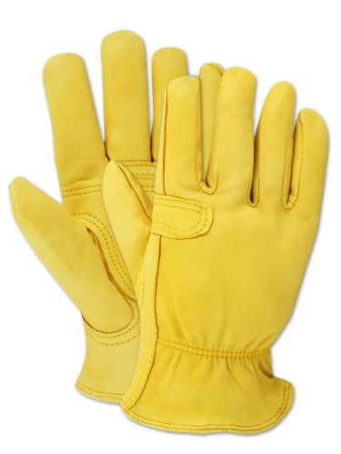Magid TB558ET-L Men's Pro Grade Collection Cutter Goatskin Gloves, Large