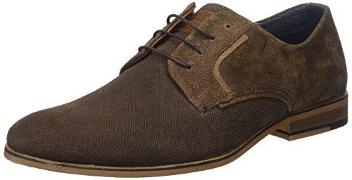 Redskins Nesko, Zapatos de Cordones Derby para Hombre Marron (CHATAIGNE+COGNAC)