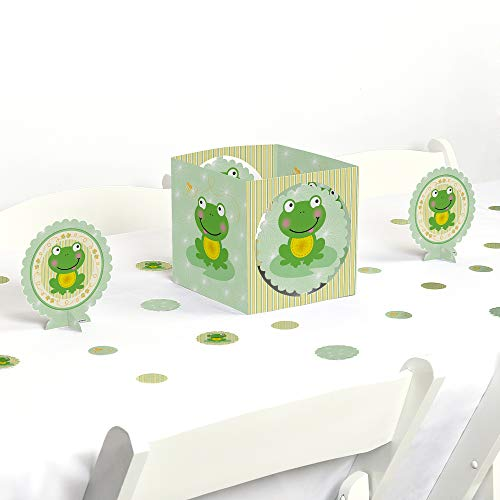 (Big Dot of Happiness Froggy Frog - Baby Shower or Birthday Party Centerpiece & Table Decoration Kit)