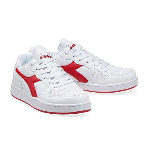 Playground Homme Rouge Diadora 45041 Fonce Pour Den Sneakers Z4wq5B
